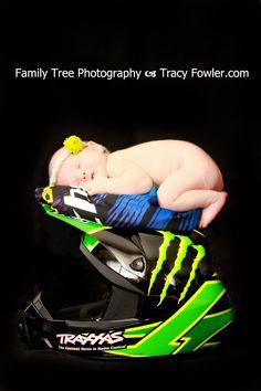 Family Tree Photography | Newborn Photography | Helmet | Motorcycle www.tracyfowler.com