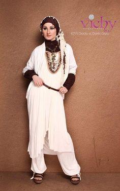 Egyptian hijab style 12