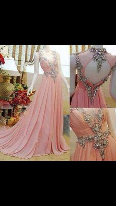Such a beautiful dress, it's very elegant.