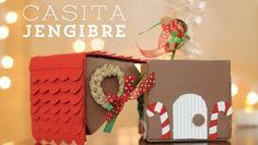 Casita de Jengibre - Caja y regalito de navidad