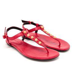 Balenciaga studded leather sandals £305