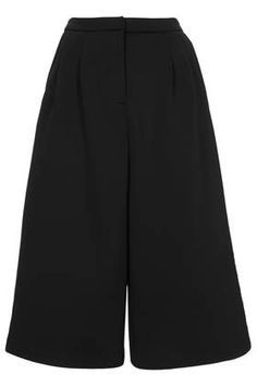 Pleat Front Culottes - Culottes - Shorts  - Clothing