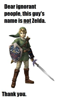 The Legend of Link just sounds weird mkay? It makes perfect sense to name the game after the helpless girl, she is the one getting kidnapped repeatedly
