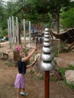 Pagoda Bells - outdoors