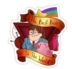 Gravity Falls- Boss Mabel by alina-923