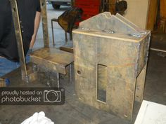 I built a Cinva-Ram CEB press, and I made it easier for you to build one too! (cob forum at permies) Concrete Building Blocks, Earth Bag Homes, Off Grid House, Interlocking Bricks, Just Serve, Diy Sofa, Sofa Bed, Brick Construction, Portland Cement