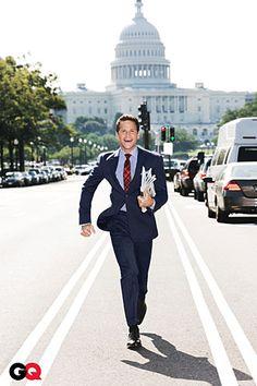 A running Paul Ryan.
