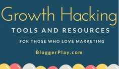 Top Growth Hacking Tools & Resources for those who love Marketing Growth Hacking, Growing Your Business, Marketing, Tools, Love, Amor, Instruments, I Like You, Utensils