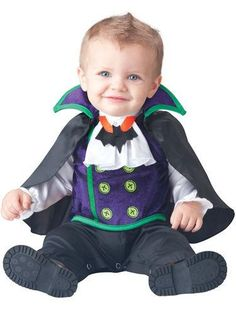Deluxe Baby Boys Count Cutie Vampire in Character Halloween Fancy Dress Costume Outfit Months) Baby Halloween Costumes For Boys, Toddler Costumes, Halloween Fancy Dress, Costume Halloween, Halloween Parties, Holiday Costumes, Fancy Costumes, Halloween Season, Halloween Halloween