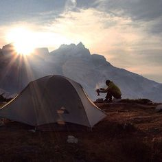 The aroma of coffee, the view, warmth of the morning sun, cascading thoughts of gratitude. Camping Glamping, Camping And Hiking, Camping Life, Adventure Awaits, Adventure Travel, Trekking, Another Day In Paradise, Escalade, Wanderlust