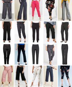 Plus size workwear trousers, officewear, wide legged trousers, ponte pants, crop… – Best Of Likes Share Workwear Trousers, Cropped Trousers, Wide Leg Trousers, Slacks, Office Outfits, Office Wear, Plus Size Workwear, Corporate Fashion, Ponte Pants