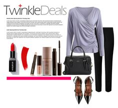 """""""twinkledeals"""" by silencejune on Polyvore featuring Kate Spade, RED Valentino and Laura Mercier"""
