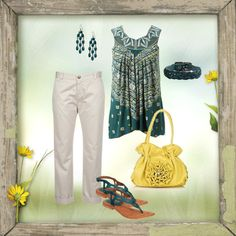 """Summer casual outfit"" by tsartin001 on Polyvore"