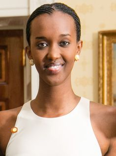 Ange Kagame is the second child and only daughter of Paul Kagame, current president of Rwanda. She has been involved in causes that include women empowerment, education and poverty eradication, as well as mass vaccination campaigns. Contemporary History, Great Lakes Region, Current President, The Republic, Women Empowerment, Presidents, Two By Two, Daughter, Africa