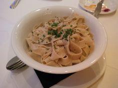Porcini mushroom noodles @ Restaurant Baccara