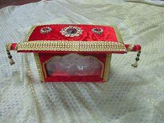 Packing Diya Decoration Ideas, Trousseau Packing, Decorative Trays, Marriage Decoration, Packing Ideas, Indian Wedding Decorations, Wedding Crafts, Tray Decor, Indian Art
