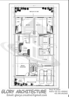 House Plan Drawing 35x60 Islamabad design project Pinterest