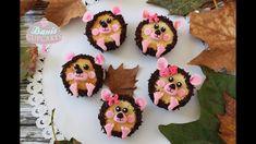 Igel Herbst Nutella Cupcakes Hedgehog Cupcakes | Danis Cupcakes