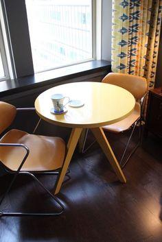 Tripod Table from West Elm via @Gilda Locicero Therapy