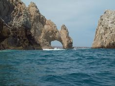 The Arch from the Pacific side