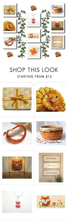 Gift set! by keepsakedesignbycmm on Polyvore featuring Giallo, jewelry and accessories