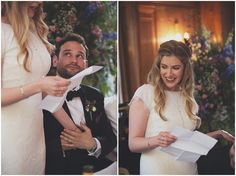 Sarah and Christopher's Pretty and Eclectic London Wedding By Lisa Devlin