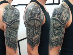 Medieval Armor Tattoos Pin <b>medieval armor tattoos</b> publicado por diego villar en on ...