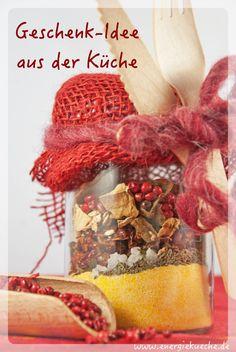 Polenta, Pilze und Gewürze Polenta, To Go, Healthy Recipes, Vegan, Blog, Gifts, Convenience Food, Vegetarian Dinners, Dried Tomatoes