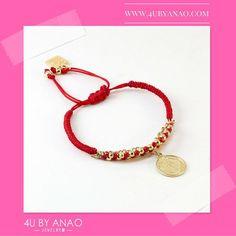 Viernes de salir de fiesta!! imagina si fueras con esta pulsera... #4u #accesorios #moda #fashion #fb