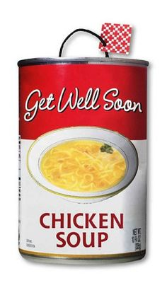 Chicken soup - get well soon