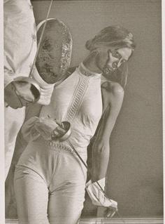 Nathalie Moellhausen by Cesar Saldivar