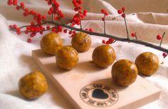 conscious life blog: Rawball with Saffron, Orange & Chili