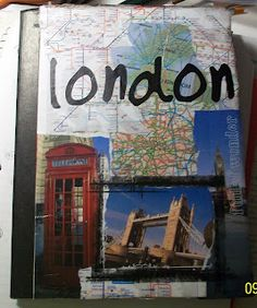 London Travel Journal - I've never been good about scrapbooking but my first trip overseas might be a good place to start!