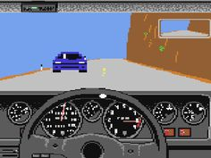The Games We Played – Test Drive (C64)