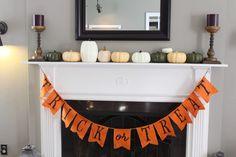 Halloween decor {The Fat Hydrangea}