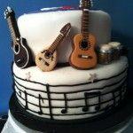 tarta instrumentos musicales en www.dulcesdediseno.com