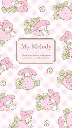 マイメロディ11 iPhone壁紙 Wallpaper Backgrounds iPhone6/6S and Plus  My Melody iPhone Wallpaper