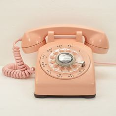 Pink 500 Desk Phone II, $192, now featured on Fab.