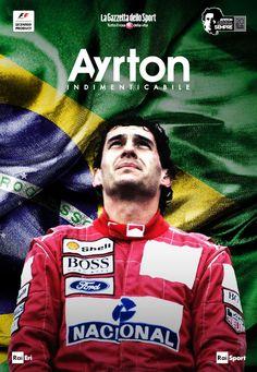 Ayrton Senna indimensional