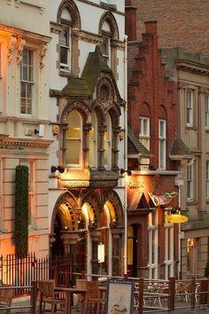 Victorian Street, Nottingham, England