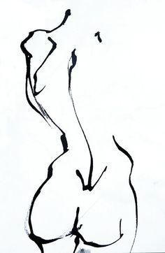 Life Drawing -Gaëtan Bernede, via Behance…