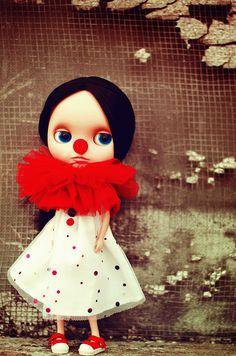 Sad little clown