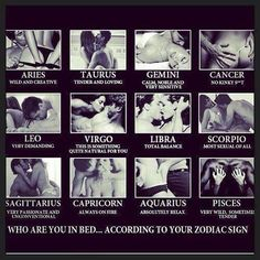 Sex positions for a virgo