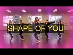 """Shape of You"" (Female Cover) SHINE DANCE FITNESS - YouTube"