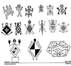 Diseños precolombinos para llaveros, prendas de vestir y otros ~ Artesania Manualidades