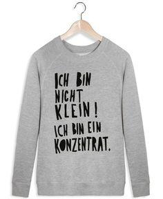 Konzentrat als Dames Sweater door typealive | JUNIQE