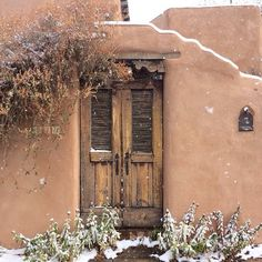 Santa Fe, primera nevada. Cortesía de mi fotógrafa preferida, SuOm Francis.
