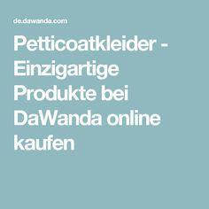 Petticoatkleider - Einzigartige Produkte bei DaWanda online kaufen