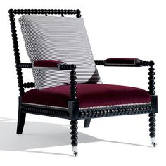New Bohemian Spindle Chair - Chairs / Ottomans - Furniture - Products - Ralph Lauren Home - RalphLaurenHome.com