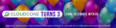CloudCone 3rd Birthday Sale - 4GB KVM VPS For $3.99/mo - 2GB For $2.99  #cloudcone #vps  #webhosting #deals #coupon 3rd Birthday, Easter Eggs, Coupons, Coupon